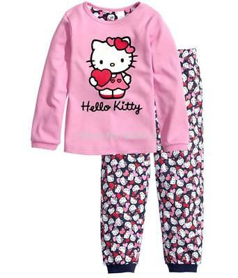 New Lovely Pink Kitty Pyjamas for Girls size 3-4years