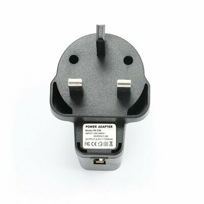 USB Wall Charger UK Plug Mains AC - DC Power 5V 1A Adaptor for All Phones iPhone