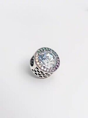 b10c5a15a Authentic Pandora Charm Beads Radiant Hearts Multi-Colored 791725CZMX#1