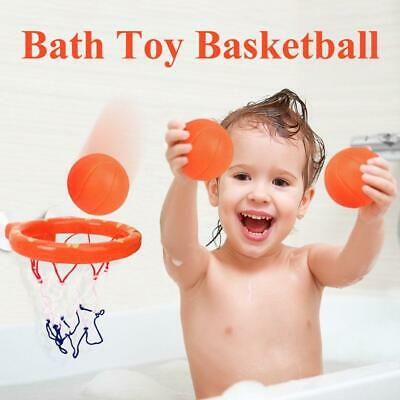 Bath Toy Basketball Hoop Suction Cup Mini Gift for Baby Kids Toddlers Bath