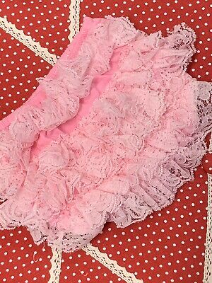 Baby Girls Nappy Cover Ruffle Frilly Pants Pink Brand New Without Tags