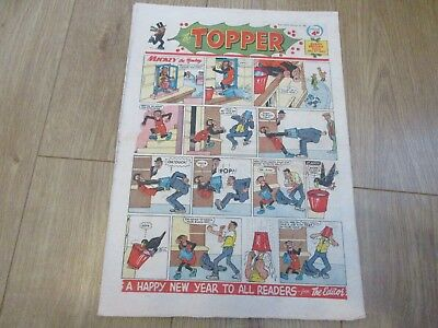 THE TOPPER COMIC, No 413 December 31st 1960 - Christmas/New Year  - gc  - Beezer