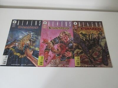 Aliens : Kidnapped - 1 - 3 - Complete Set - Dark Horse Comics 1997 - Very Fine