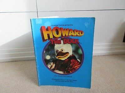 HOWARD THE DUCK ( movie storybook) George Lucas presents