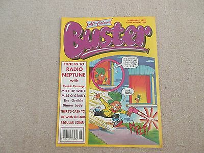 BUSTER COMIC all colour- Feb 1st 1992-,  very Good condition