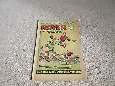 THE ROVER & WIZARD Comic - Date 22/01/1966 - UK Comic