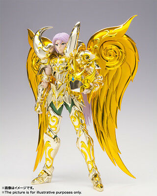 Myth Cloth Aries Soul of Gold God Ex Mu Bandai Original New Saint Seiya Nuevo