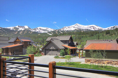 6 Nights: Slope View Chalet in Breckenridge Townhouse by RedAwning ~ RA128753