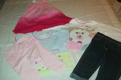 Baby girls clothes Nutmeg/George/H&M 11 items 3-6m - combined postage available