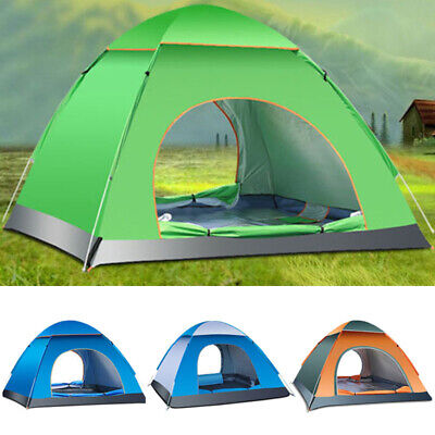 4Person Camping Tent Waterproof Room Outdoor Hiking Backpack Fishing Family Gift