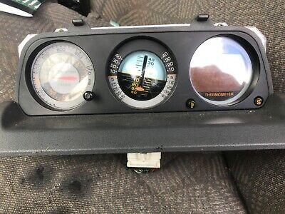 Mitsubishi Pajero Shogun Dashboard Altimeter Compass Thermometer MB775503