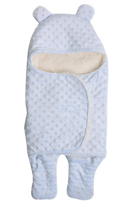 October Elf Newborn Infant Baby Thicken Sleeping Bag Blanket Wrap For Autumn and