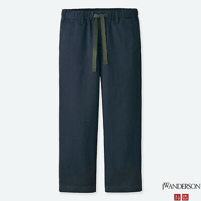 b87939a1cb399 J.W. ANDERSON x UNIQLO  JWA Relaxed Chino Pants  Men s Flat Front Hospital M  NWT