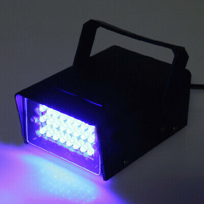 3W 24LED High Intensity Strobe Party Purple Light DJ Disco Stage Effect Club