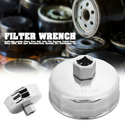 39AF Auto Oil Filter Wrench Oil Filter Wrench 74mm for Mercedes Porsche VW Audi