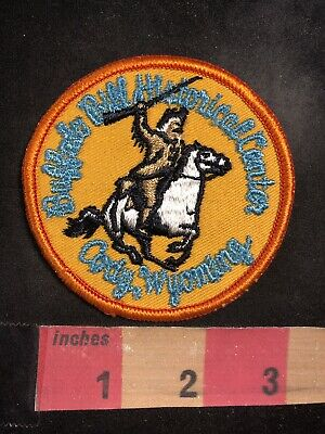 Vers. 1 Cody Wyoming BUFFALO BILL HISTORICAL CENTER Wild West Showman Patch 89H4