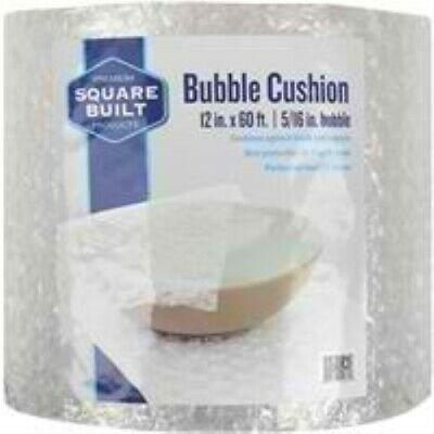 """Square Built 12 In. x 60 Ft, 5/16"""" Thick Bubble Cushion"""