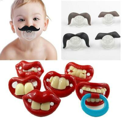 Baby Infant Silicone Gel Soft Safety Funny Appease Pacifier Holder C1MY