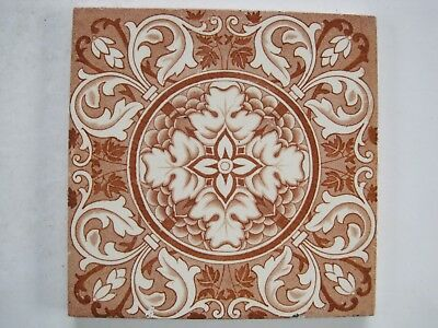 ANTIQUE VICTORIAN TRANSFER PRINT AESTHETIC TILE - WEDGWOOD c1878-1900