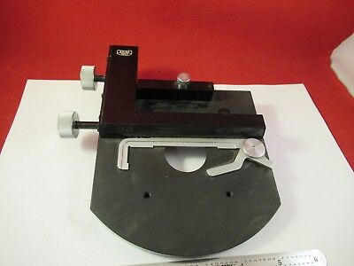Carl Zeiss Germany Stage Table Micrometer Microscope Part &92-A-15