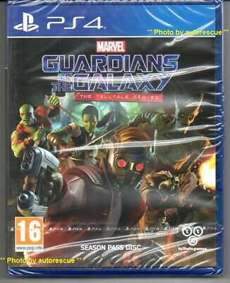 MARVEL GUARDIANS OF THE GALAXY THE TELLTALE SERIES 'New & Sealed' *PS4(Four)*
