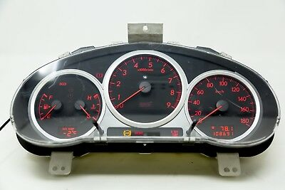 Used JDM Version 8 WRX STi Hawkeye Gauge Clusters with Opening Ceremony and DCCD