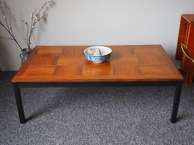 Mid Century  Vintage Norwegian Rosewood Coffee Table. UK Delivery Available.