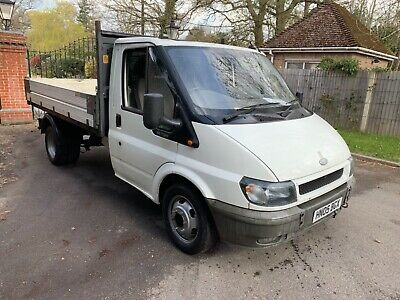 ford transit tipper nice truck low miles 12 months mot sold