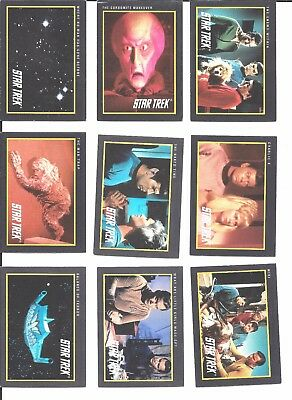 STAR TREK TOS Original Series trading cards ~ 33 cards 1991 Impel/Paramount