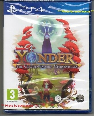 Yonder The Cloud Catcher Chronicles  'New & Sealed'   *PS4(Four)*