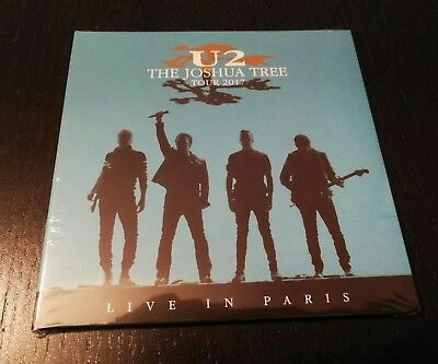 U2 - LIVE IN PARIS- JOSHUA TREE TOUR - July 26th 2017- 2 CD DIGIPACK -NEW&SEALED