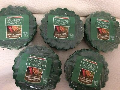 8hrs ea 3 Yankee Candle GRAPEVINE /& OAK Green Wax Tarts Mini Small Candle apprx