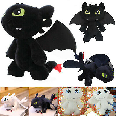 Movie How to Train Your Dragon Toothless Night Fury Stuffed Plush Soft Toys Doll