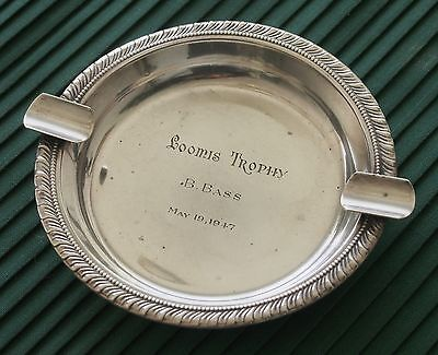 REDLICH & CO Antique Sterling Silver Ashtray