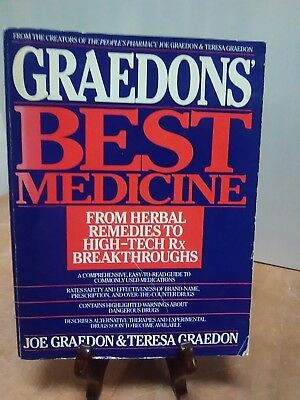 Graedon's best Medicine: From Herbal Remedies to High- Tech Rx Breakth(Fc27-4-B)