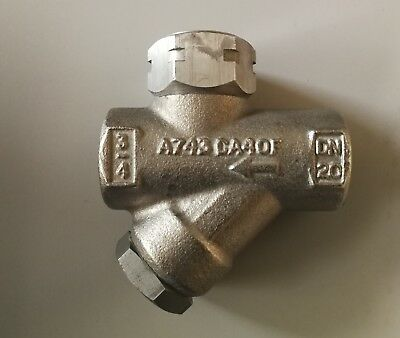 Spirax Sarco Stainless Steel Thermodynamic Steam Trap, TD42LA, 3/4 in NPT