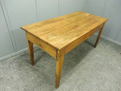French Elm And Chestnut Dining Table Early 19Th C