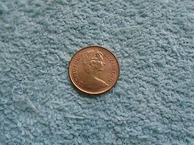 1979 Half New Pence Coin.
