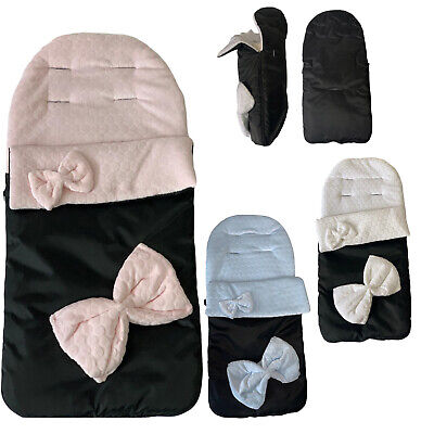 Baby Footmuff Snug Cosy Toes Universal Stroller Buggy Pram Apron Baby Toddler