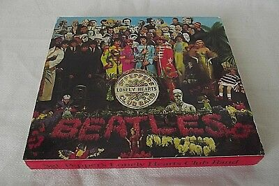 The Beatles Rare Cd Etui Complet Sgt Pepper's Lonely Hearts  Parlophone 1962
