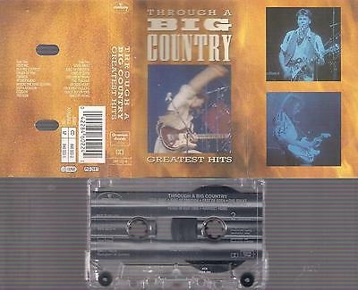 Through a Big Country: Greatest Hits   DIFICULT CASSETTE    COLLECTORS