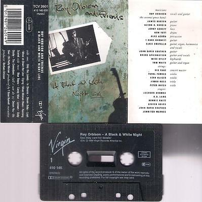 ROY ORBISON  A black & white night   DIFFICULT    CASSETTE    COLLECTORS