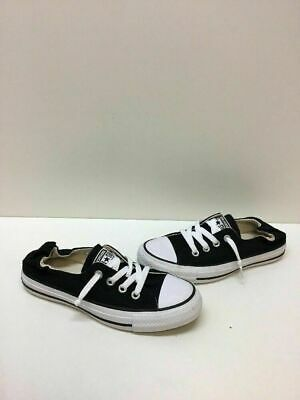 2887490a0e69 Converse All Star Black White Canvas Slip On Tennis Shoes Women s Size 6