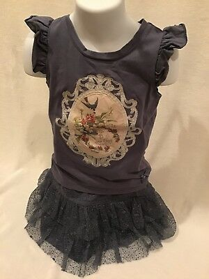 Le Chic Girls Outfit Size 6 (116) In EUC