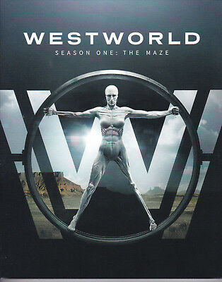 WESTWORLD:The Maze...Complete First Season BLU-RAY