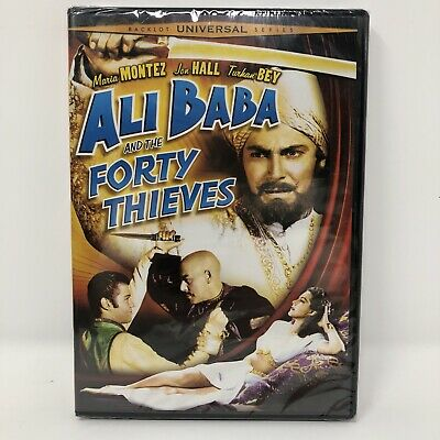 Ali Baba and the Forty Thieves [New DVD] Full Frame, Rmst, Subtitled, Free Ship