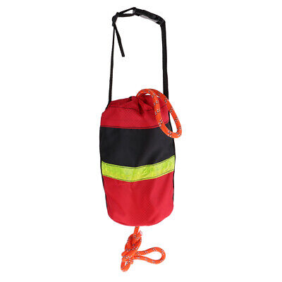 """Safety Rope For On Water 3//8/"""" Thick #RTB-100 HT Rescue Throw Bag 100 feet"""