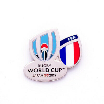 France Rugby World Cup 2019 Pin Badge