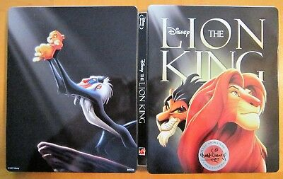 The Lion King (Blu-ray/DVD, 2-Disc Set) Signature Series SteelBook Best Buy Only