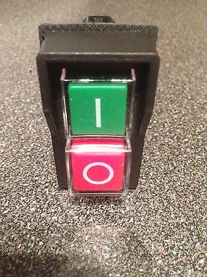 Start / Stop No Volt Release Switch NVR - Common to many workshop machines 5-Pin